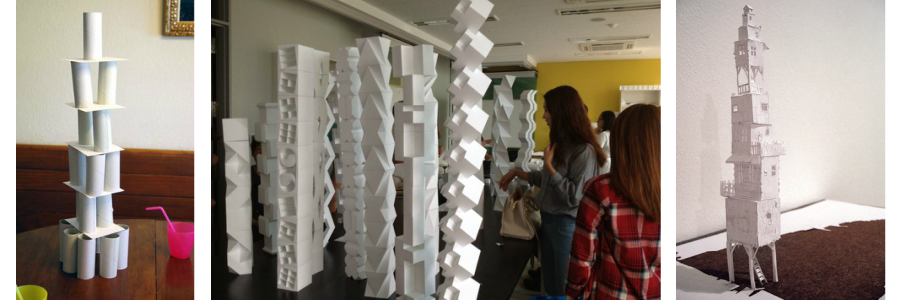 Paper Tower Challenge